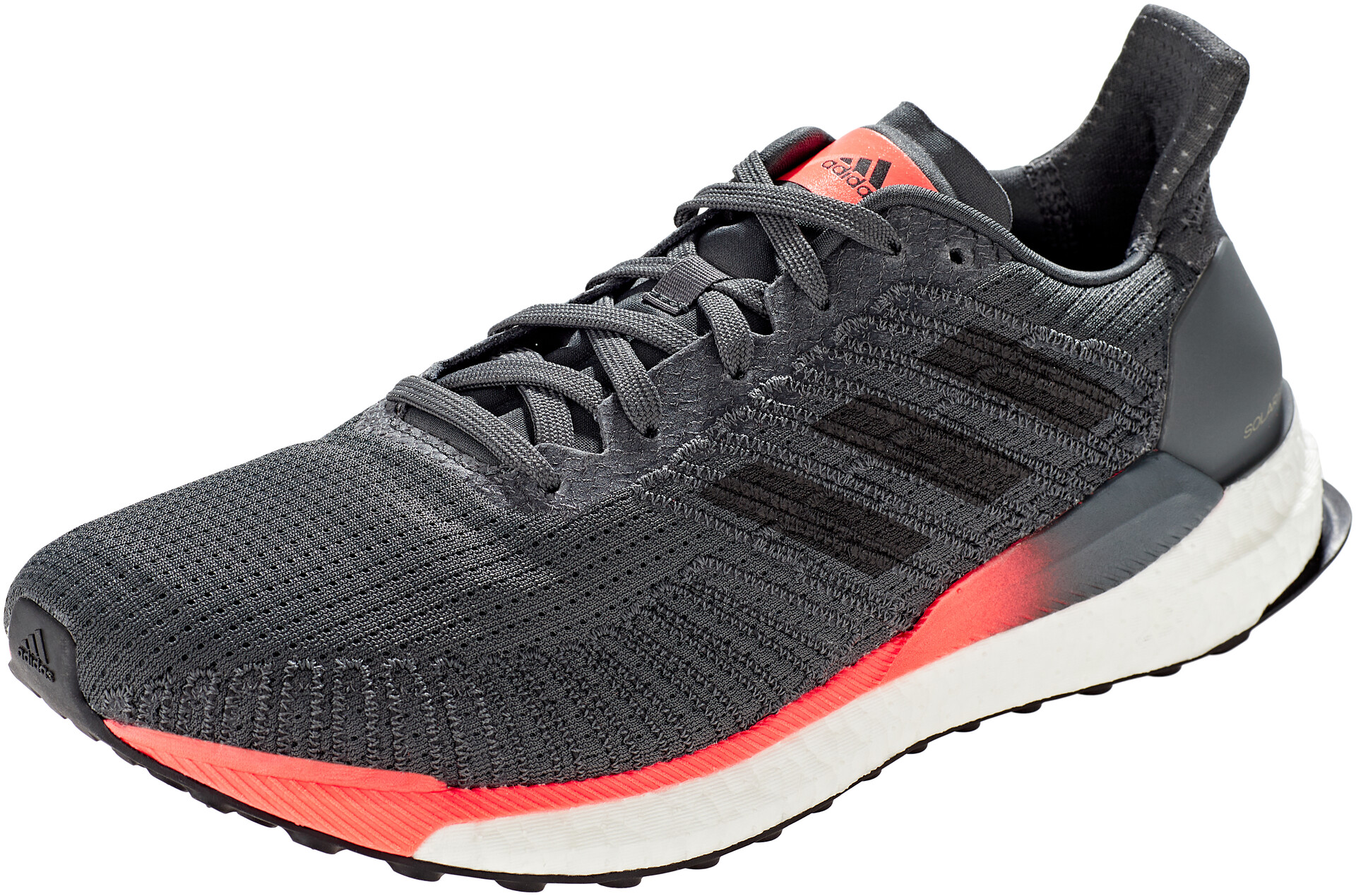 adidas Solar Boost 19 Chaussures basses Homme, grey sixcore blacksignal coral